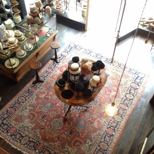 Photo taken at Goorin Bros. Hat Shop by Melissa d. on 3/17/2012