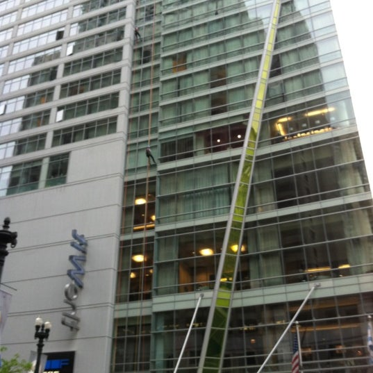 Photo taken at theWit Chicago - A DoubleTree by Hilton Hotel by Stephanie B. on 5/6/2012