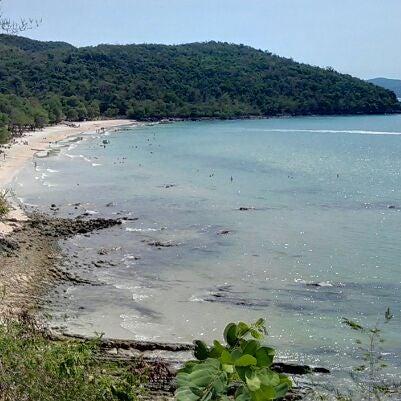 Photo taken at Sai Keaw Beach by Anita K. on 3/5/2012