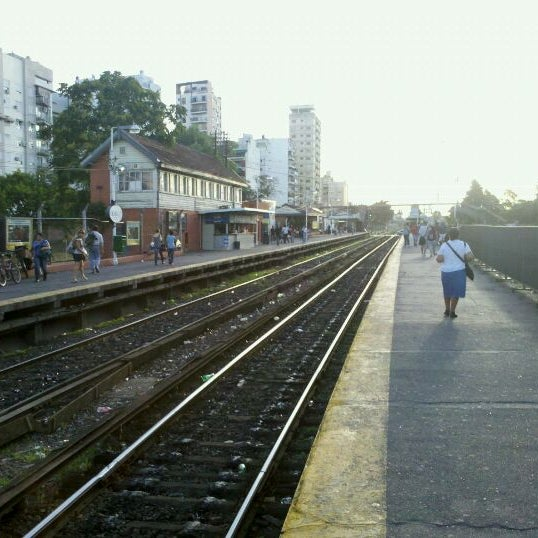 Photo taken at Estación Caballito [Línea Sarmiento] by Jorejo G. on 12/20/2011
