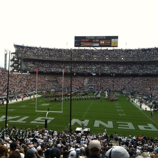 Photo taken at Beaver Stadium by Jen C. on 9/3/2012