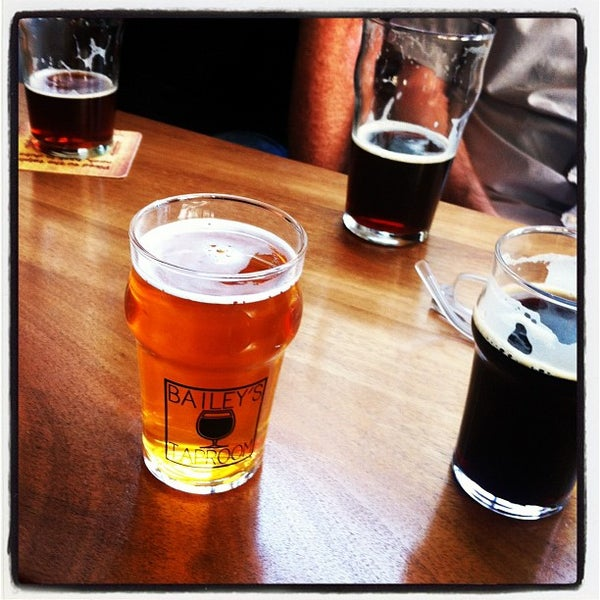 Photo taken at Bailey's Taproom by Dan H. on 5/18/2012