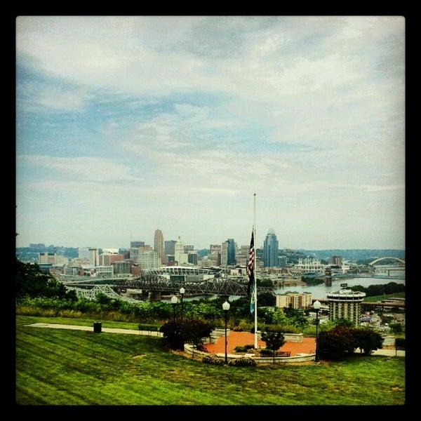Photo taken at Devou Overlook by Jon S. on 5/29/2012