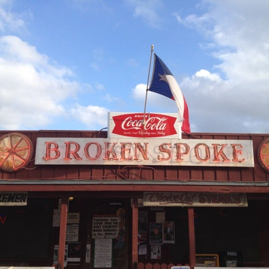 Photo taken at Broken Spoke by Molly G. on 3/14/2012