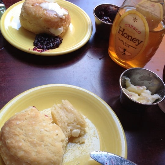 Photo taken at Tupelo Honey Cafe by Cheryl on 7/29/2012