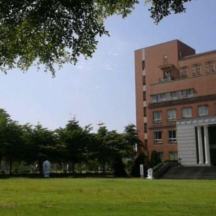 Photo taken at Asia University by Jun W. on 7/3/2012