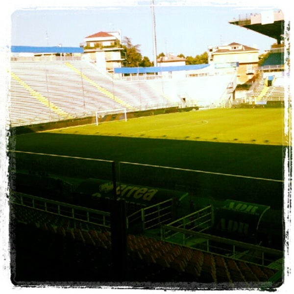 Photo taken at Stadio Ennio Tardini by Daniel on 7/31/2012