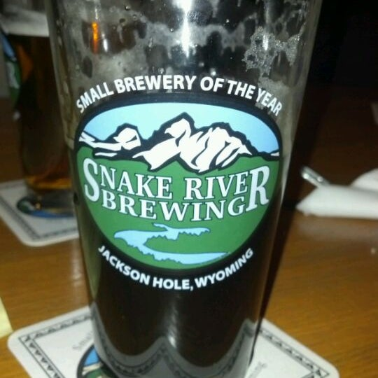Photo taken at Snake River Brewery & Restaurant by Andy R. on 1/26/2012