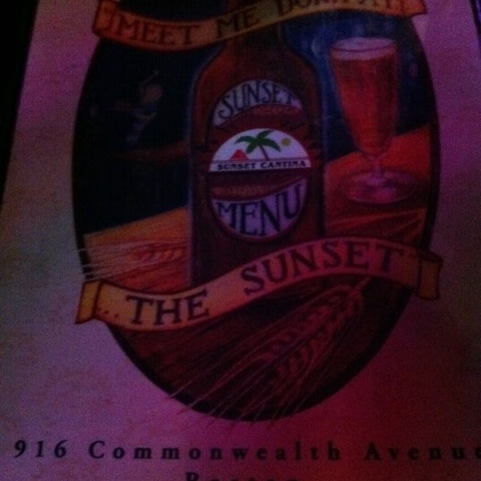 Photo taken at Sunset Cantina by Corey P. on 5/13/2011