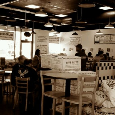 Photo taken at Five Guys by Jeffrey R. on 7/1/2011