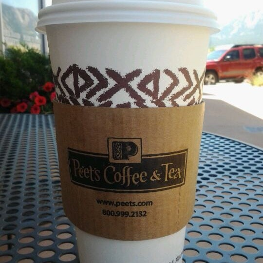 Photo taken at Peet's Coffee & Tea by Cup on 5/15/2012