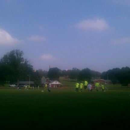 Photo taken at Lakeshore Park by Christa D. on 7/29/2011