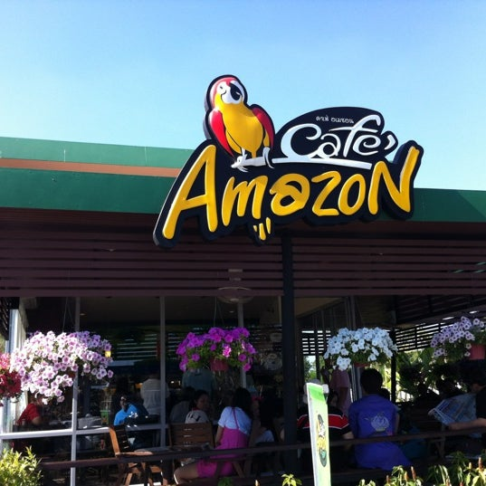 Photo taken at Cafe' Amazon @ PTT Pakthongchai by Parinya S. on 1/1/2012