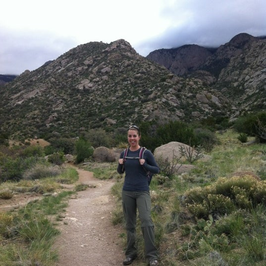 Photo taken at La Luz Trailhead by Jen W. on 4/27/2012