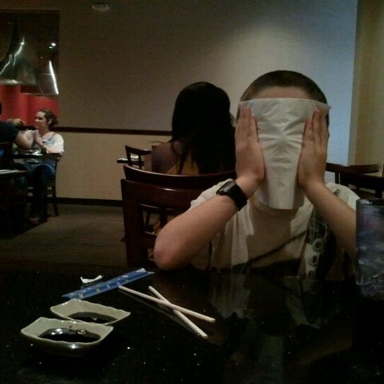Photo taken at Wasabi Steakhouse & Sushi Bar by shari s. on 8/14/2011