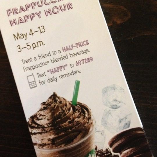 Photo taken at Starbucks by Wendy M. on 5/7/2012