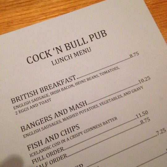 Photo taken at Cock and Bull by Johnny B. on 5/13/2012