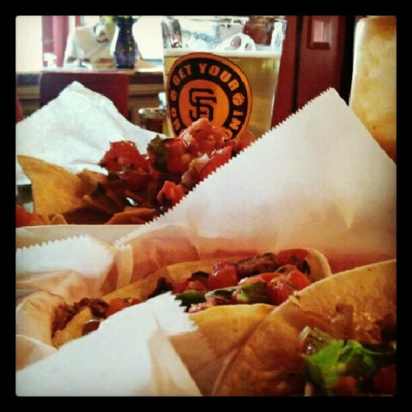 Photo taken at Nick's Crispy Tacos by hanslcali on 9/1/2012