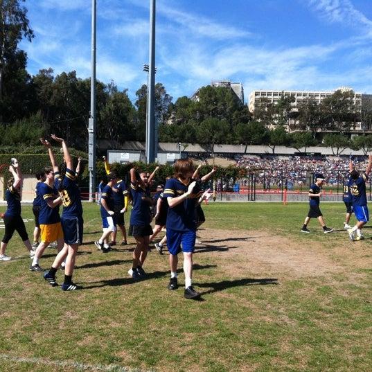 Photo taken at UCLA Intramural Field by Dru B. on 3/10/2012