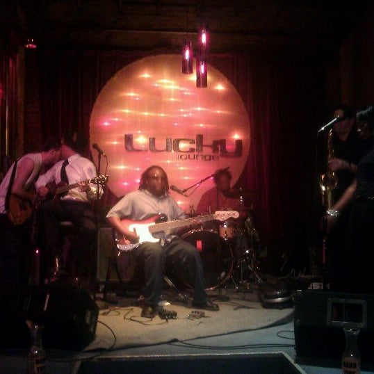 Photo taken at Lucky Lounge by Leslie B. on 4/27/2012