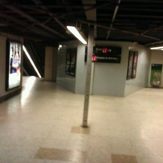 Photo taken at METRO Plaça de Sants by Damiano B. on 2/28/2012