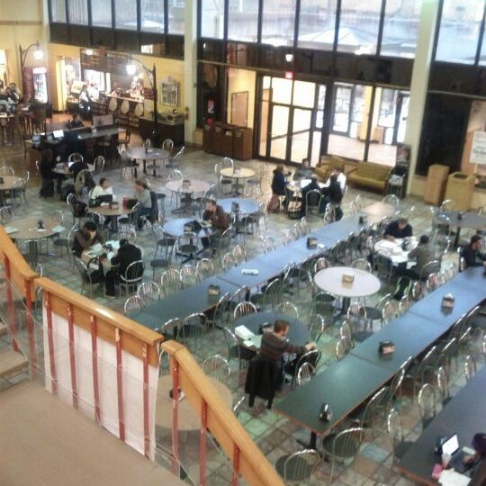 Photo taken at Carmichael Student Center by Ed B. on 2/13/2012