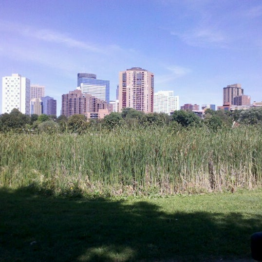 Photo taken at Loring Park by Morgan J. on 8/17/2012