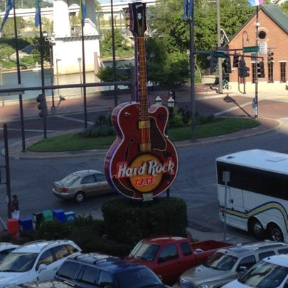 Photo taken at Hard Rock Cafe Nashville by Zachary W. on 7/27/2012