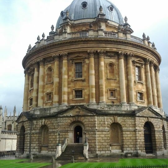 Photo taken at Radcliffe Camera by Omid A. on 4/25/2012