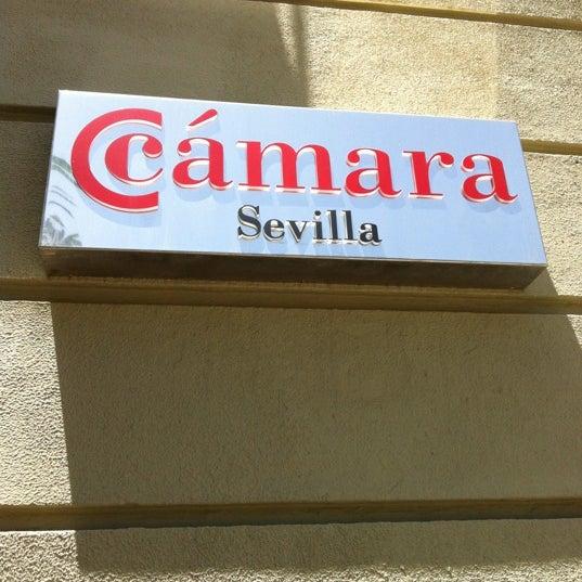 Photo taken at Cámara de Comercio de Sevilla by Ale R. on 7/9/2012