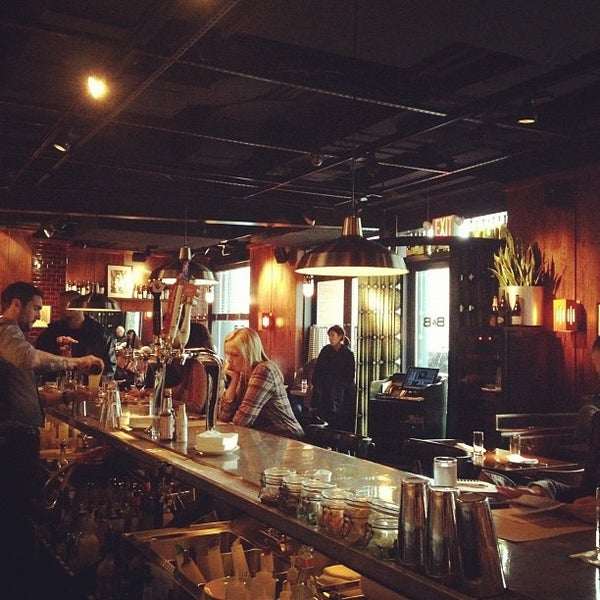 Photo taken at B & B Winepub (Burger & Barrel) by In NYC on 3/31/2012