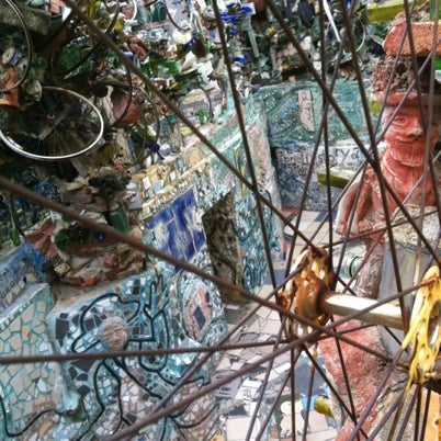 Photo taken at Philadelphia's Magic Gardens by Lucy R. on 8/4/2012