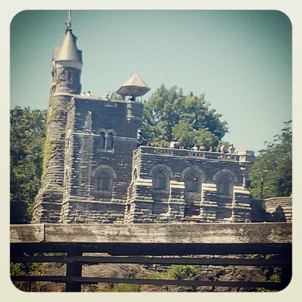 Photo taken at Belvedere Castle by Ryan A. on 6/8/2012