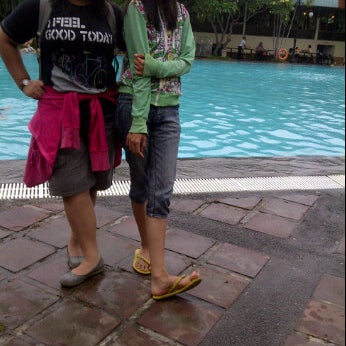 Photo taken at Graha Residence Swimming Pool by Adika W. on 5/4/2012
