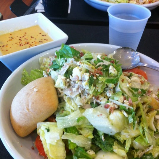 Photo taken at The Big Salad by Aditya K. on 5/1/2012