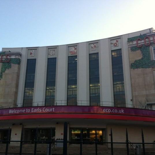 Photo taken at Earls Court Exhibition Centre by Lucas S. on 3/7/2012