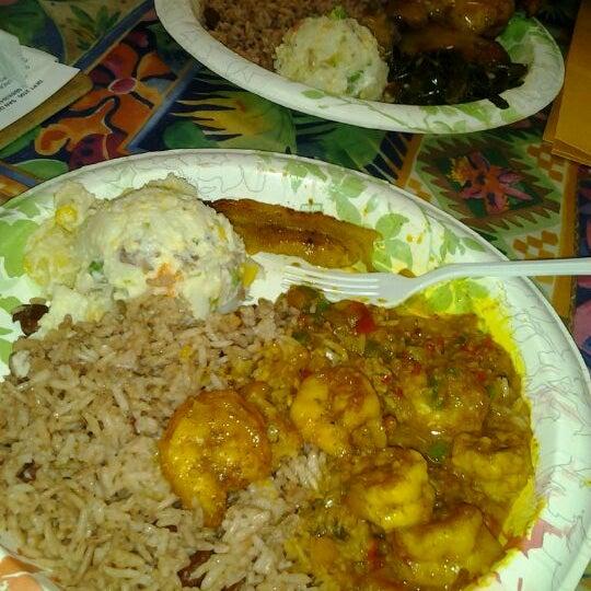 Photo taken at Mama Jamaica's Kitchen by Sammi S. on 8/3/2012