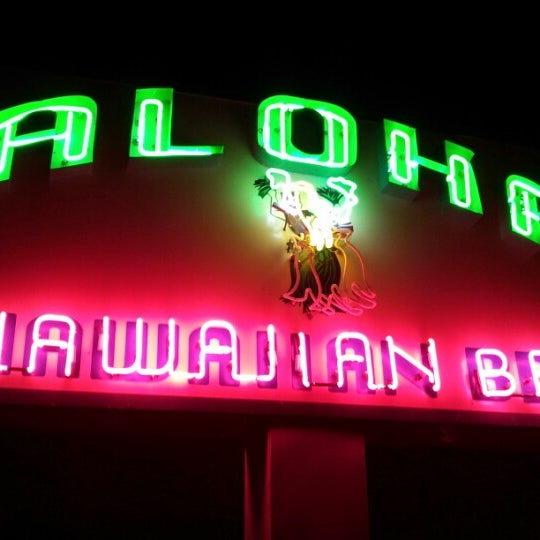 Photo taken at Aloha Hawaiian BBQ by Matt W. on 9/2/2012