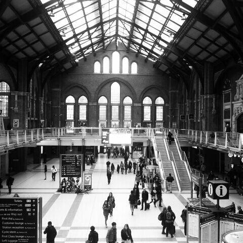 Photo taken at London Liverpool Street Railway Station (ZLS) by Luca B. on 2/25/2012