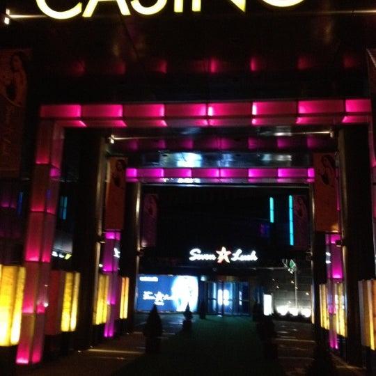 Photo taken at Seven Luck Casino by Jo K. on 4/14/2012