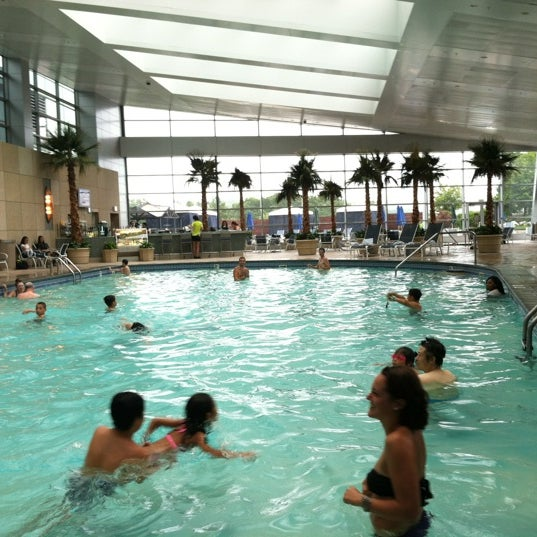 Photo taken at Mohegan Sun Pool by Andrew D. on 7/29/2012