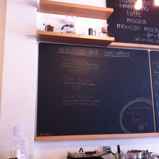 Photo taken at Trabant Coffee and Chai by Curtis L. on 4/27/2012