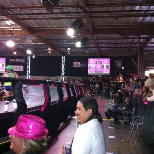 Photo taken at Doll Factory (L.A. Derby Dolls) by Eric O. on 7/8/2012