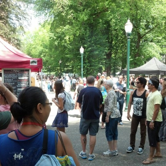 Photo taken at Portland Farmer's Market at PSU by William S. on 8/11/2012
