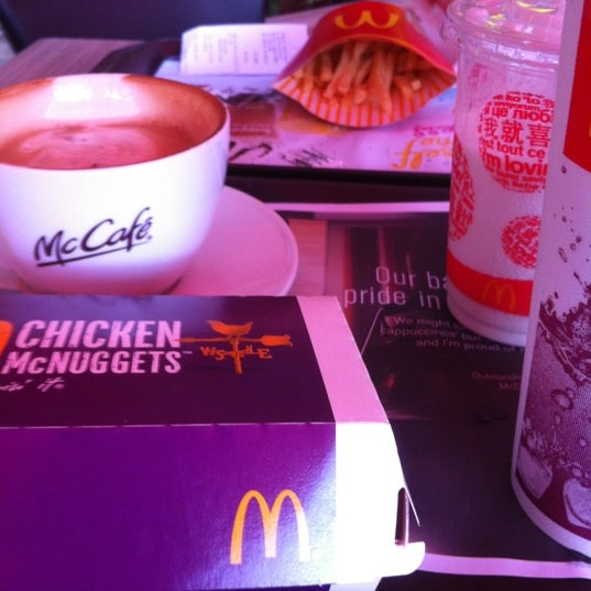 Photo taken at McDonald's / McCafé by ,7TOMA™® S. on 5/26/2012