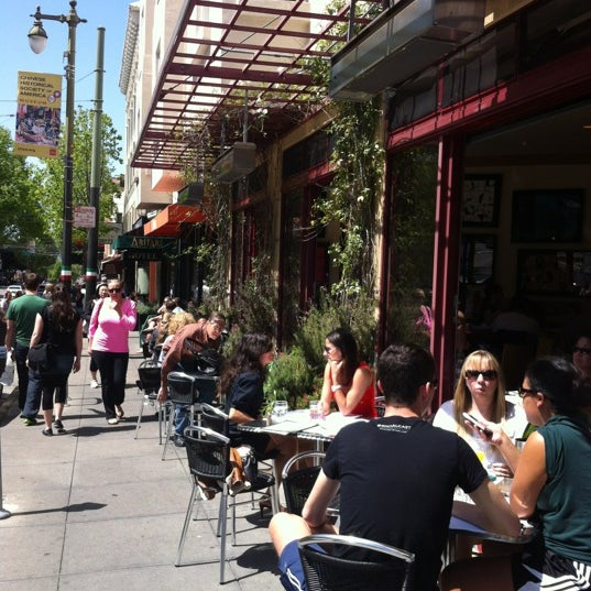 Photo taken at Caffe DeLucchi by Ania W. on 4/28/2012
