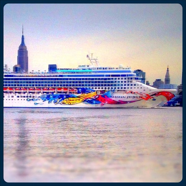 Photo taken at New York Harbor by Suzanne P. on 2/5/2012