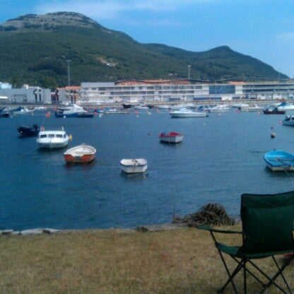Photo taken at Santoña by Andres S. on 8/2/2012