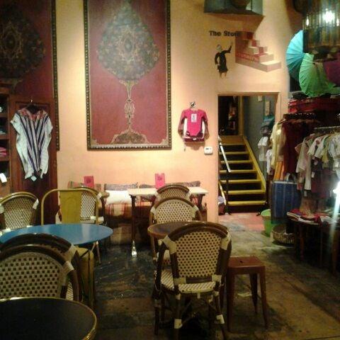 Photo taken at Casbah Café by JUAN M. on 3/20/2012