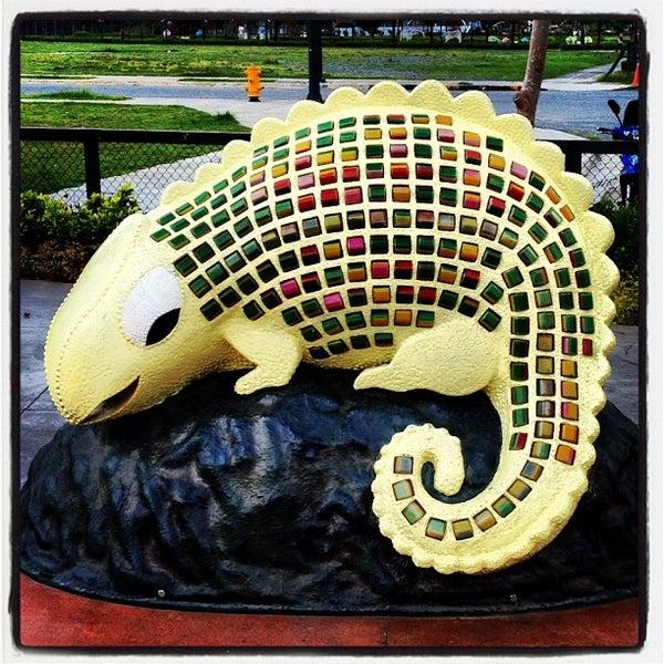 Photo taken at Bonifacio High Playground by JM S. on 6/11/2012